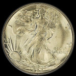1944-S PCGS MS66 WALKING LIBERTY HALF DOLLAR 1